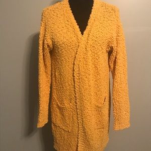 Listicle Popcorn Cardigan Sweater NWOT Small